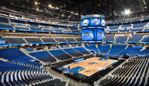 Amway Center Orlando Magic NBA Arenas Pinterest