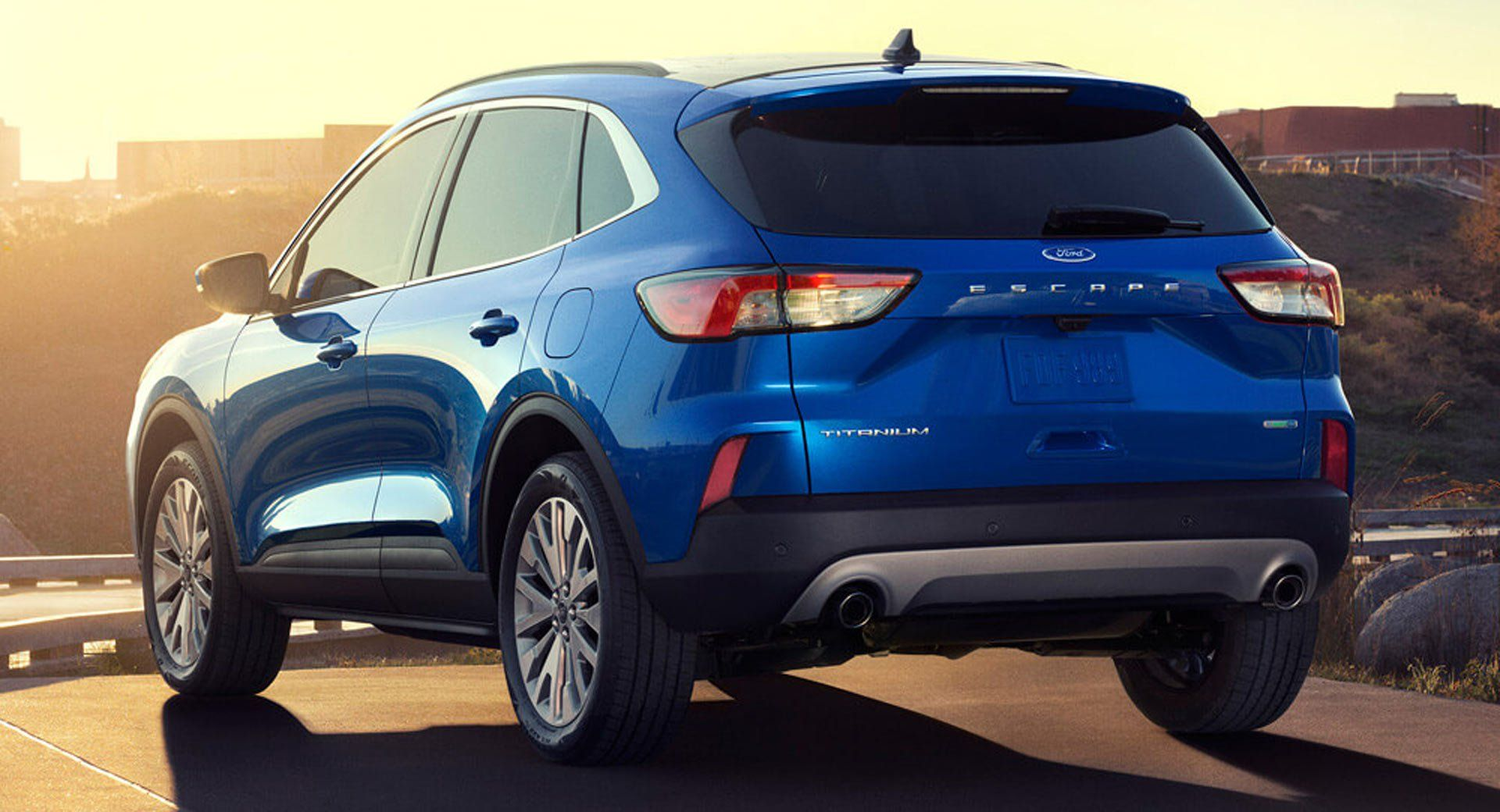 Designer Of 2020 Ford Escape Was Inspired By Bmw Motorcycles Ford