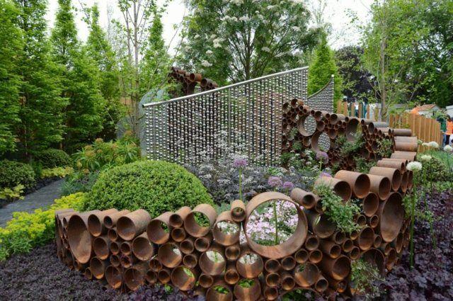 garten gestalten sichtschutz – rekem, Garten Ideen