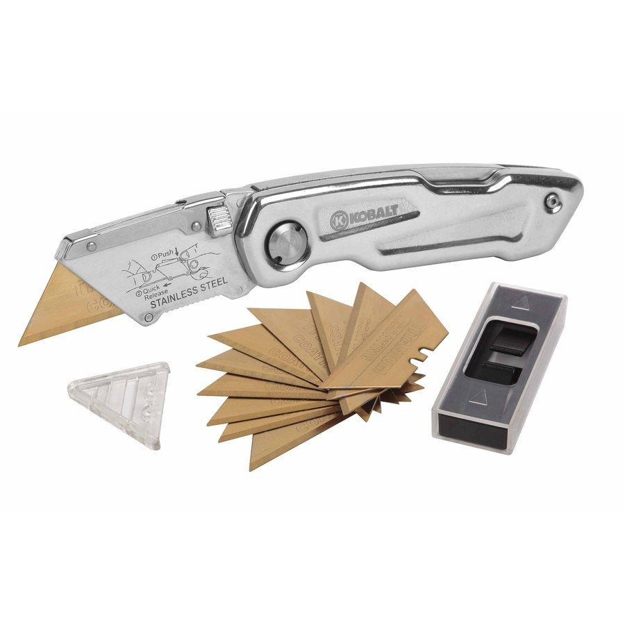 Steel Stainless Utility Knife