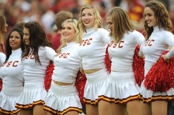 Pin on USC Song Girls