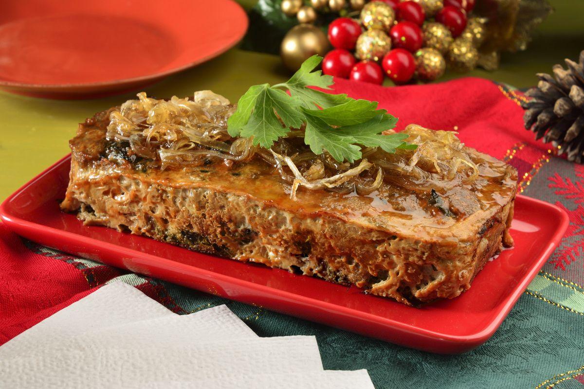 Pastel de Carne para Navidad