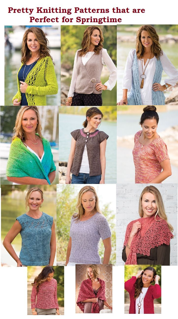 Pretty Knitting Patterns to Knit for Spring | Knitting Patterns ...