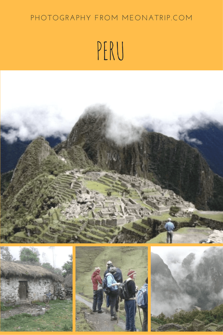 Pictures of a hike on the Lares Trek to Machu Picchu