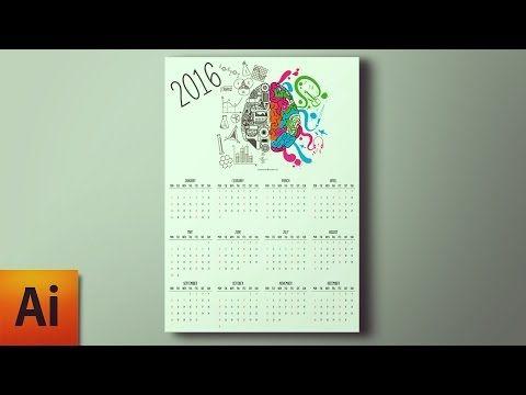Illustrator Tutorial Create a Calendar in Adobe Illustrator