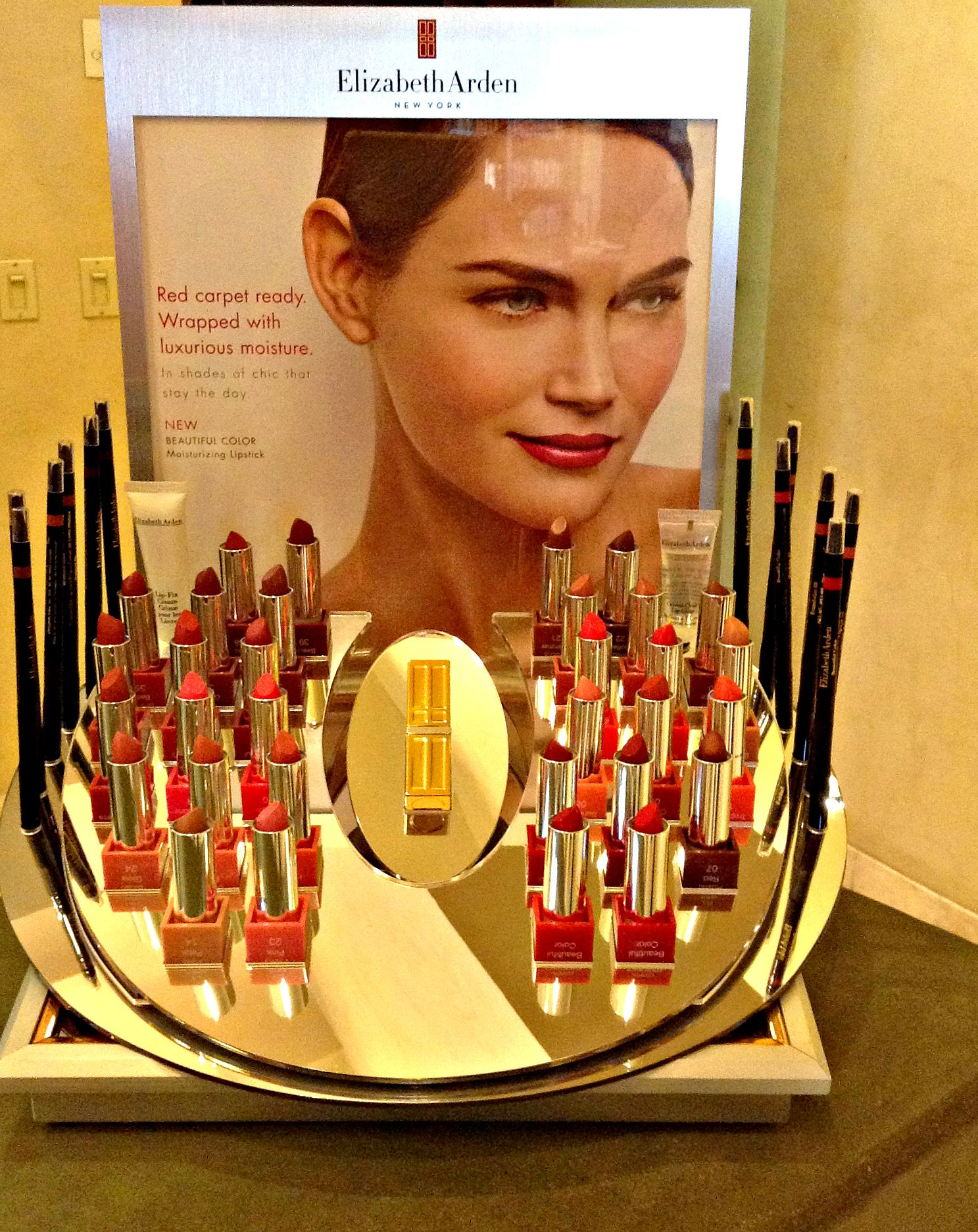 Lipstick Collection By Elizabeth Arden In The Red Door Spa The