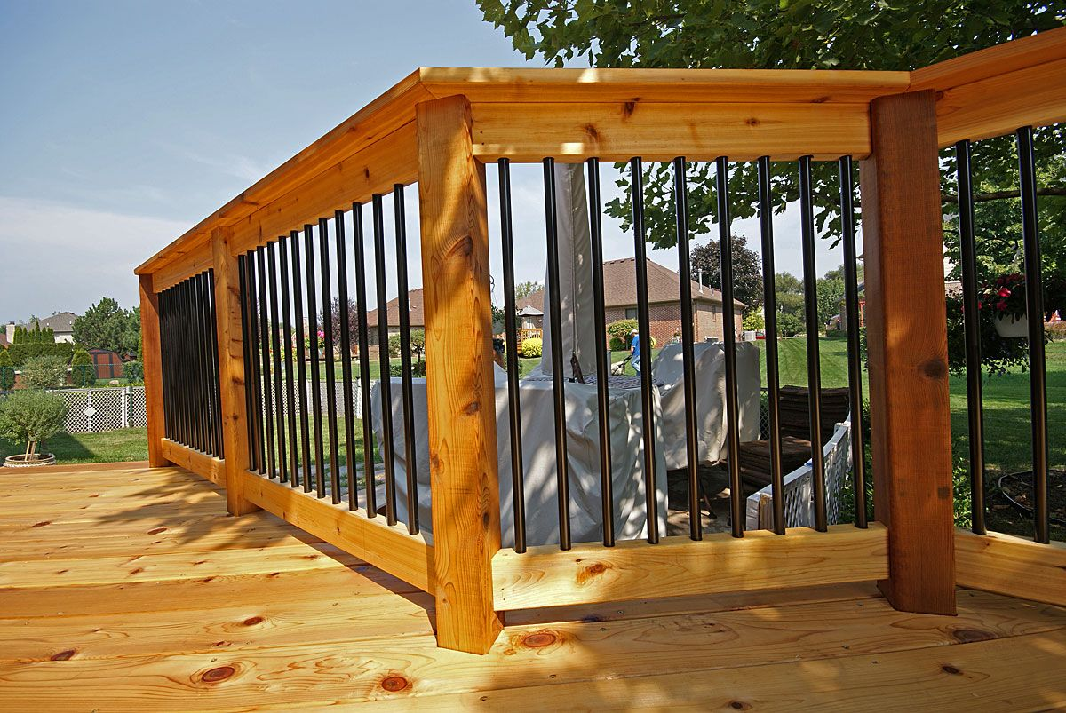Best Cedar 2X6 Deck Rail Google Search Cedar Deck Deck 400 x 300