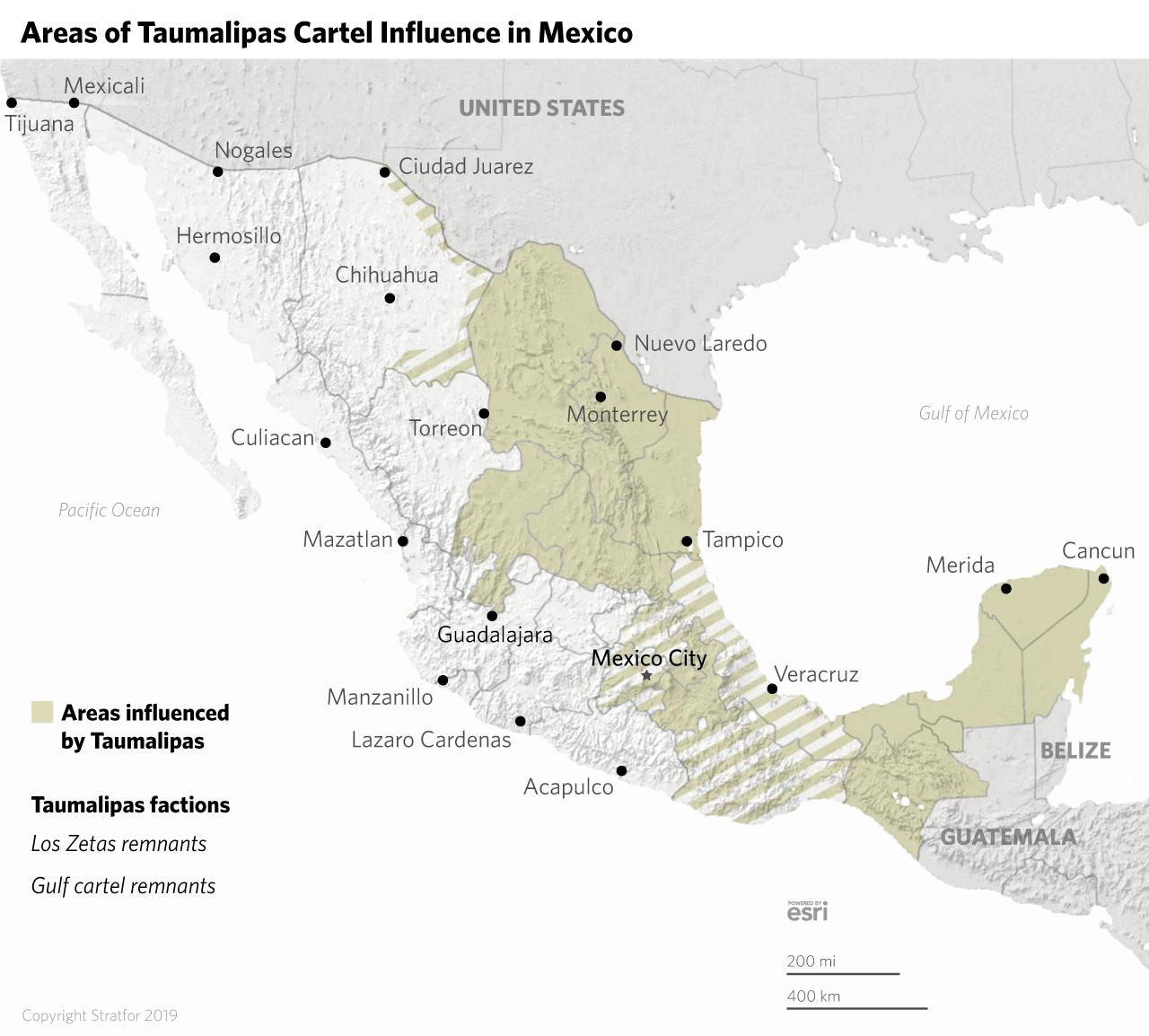 Tracking Mexico S Cartels In 2019 Tamaulipas Los Zetas Cartel