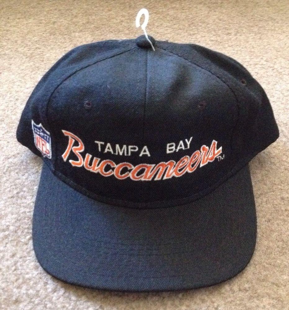 d05b1fd91 Vintage NFL Tampa Bay Buccaneers Bucs Sports Specialties Snapback ...