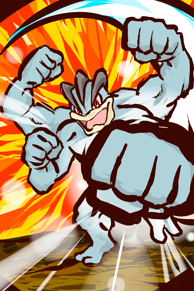 machamp deviantart Pokemon