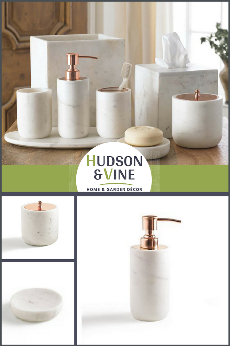Pietra Marble Bathroom Accessories | Marble bathroom accessories ...