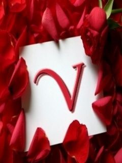 letter V | Letter V love wallpaper for cellphone download free | Alphabet Soup | Name wallpaper ...