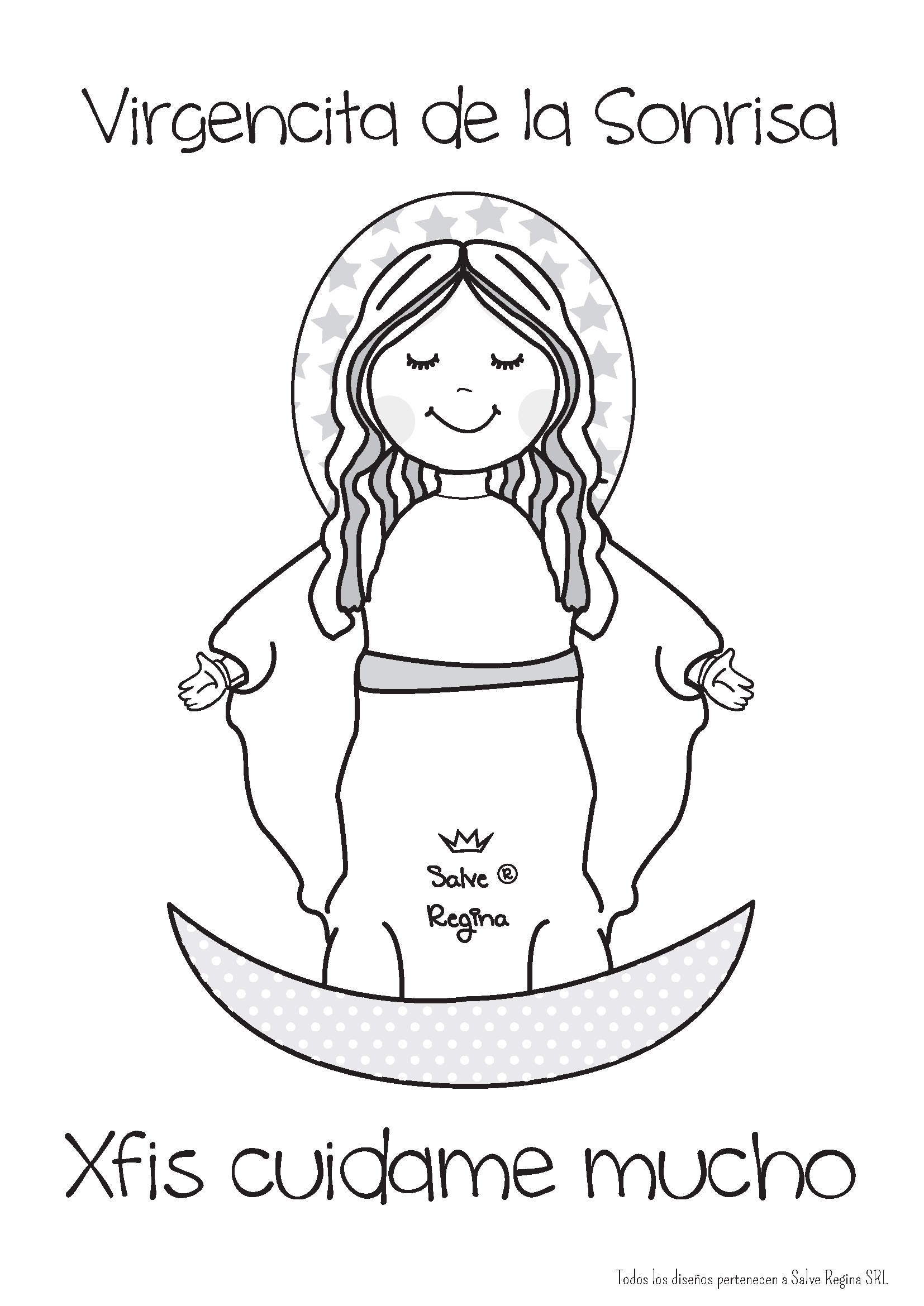 Resultado de imagen para virgen del carmen caricatura | Fe ...