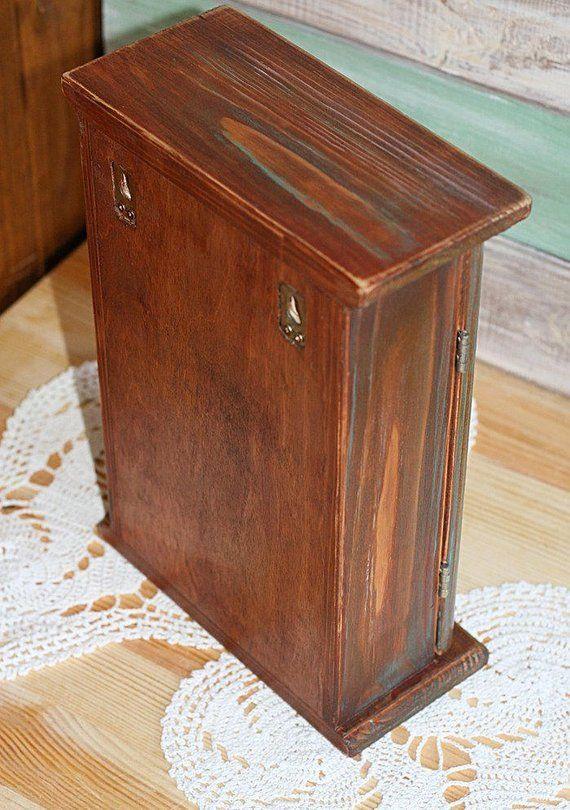 wooden key box watercolor roe vintage style key cabinet great rh in pinterest com