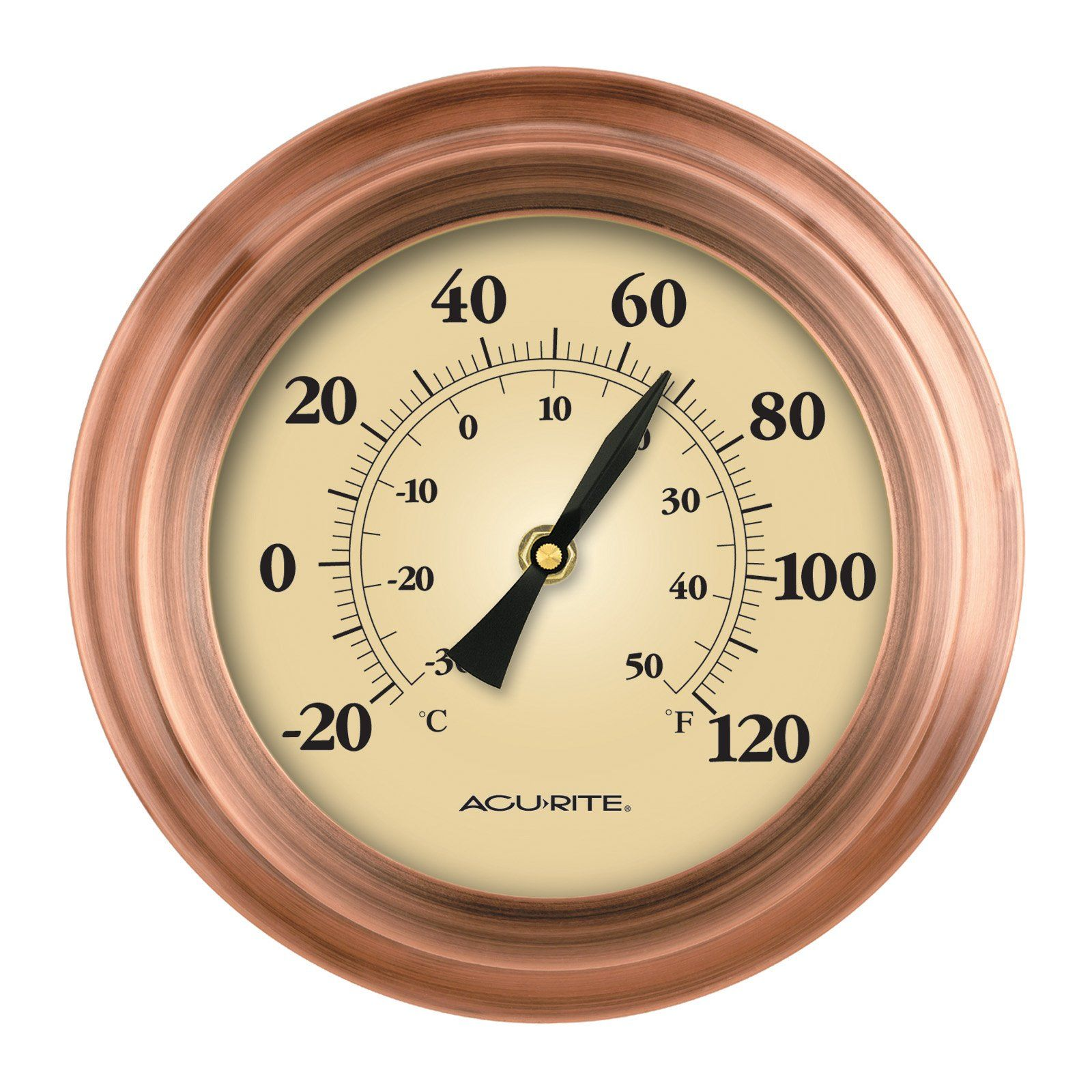 Have to have it. Weathered Copper Porthole Thermometer $36.99 ...