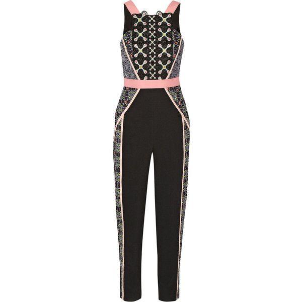 118240d4c0b1 Peter Pilotto Atom embroidered crepe jumpsuit ( 2