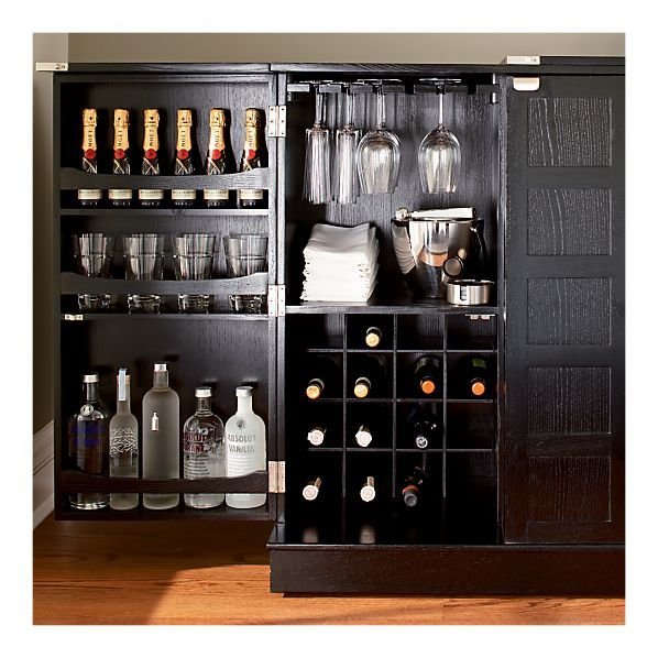 Steamer Bar Cabinet From Crate And Barrel.