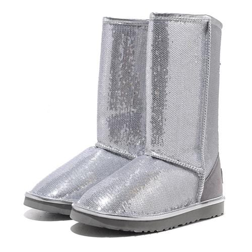 2013 NEW Uggs Women Classic Tall Sparkles 3162 Silver