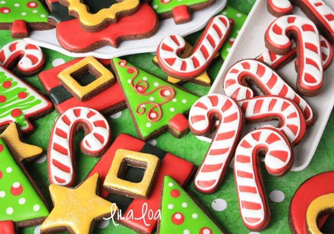 35+ Decorated candy cane cookies trends
