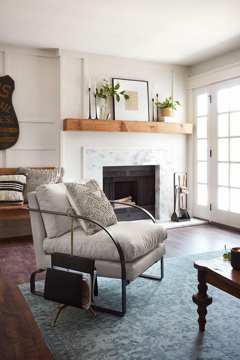 Episode 8: Season 5 | HGTV's Fixer Upper: Chip & Jo Gaines | Living room  renovation, Fireplace mantel decor, Room renovation