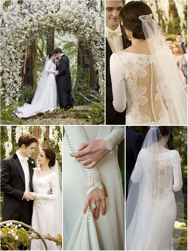 Bella Swan S Wedding Dress Revealed Bella Wedding Dress Twilight