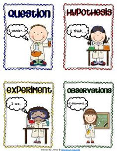 how to write method for science experiment