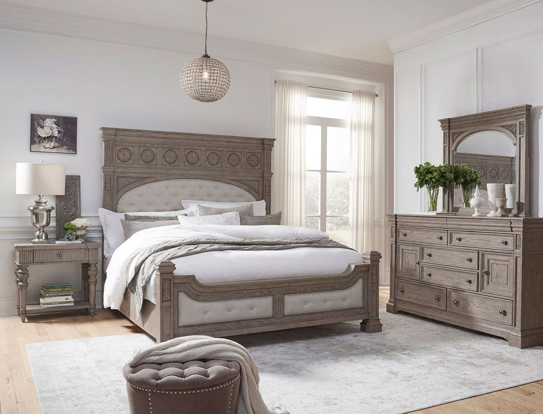 Kingsbury Panel Bedroom Set California king bedroom sets