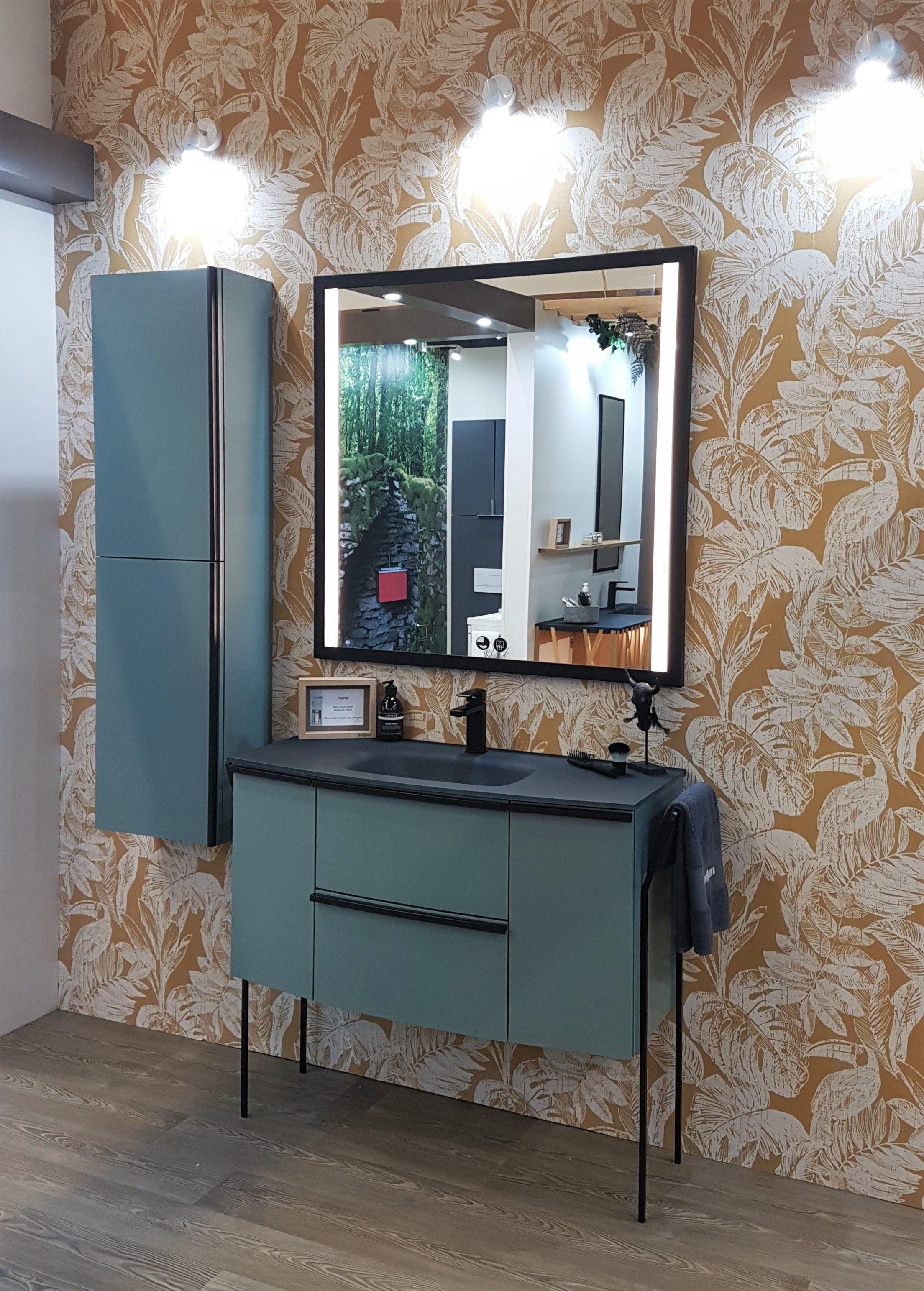 Meuble Haut Salle De Bain Avec Miroir la nouvelle gamme nona de sanijura a été présentée lors du