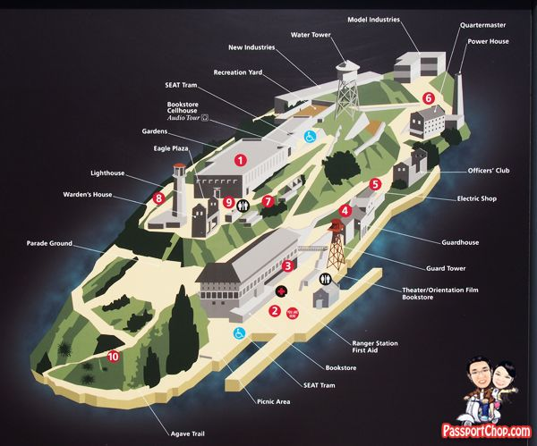Image Result For Alcatraz Map Alcatraz Alcatraz Island Prison