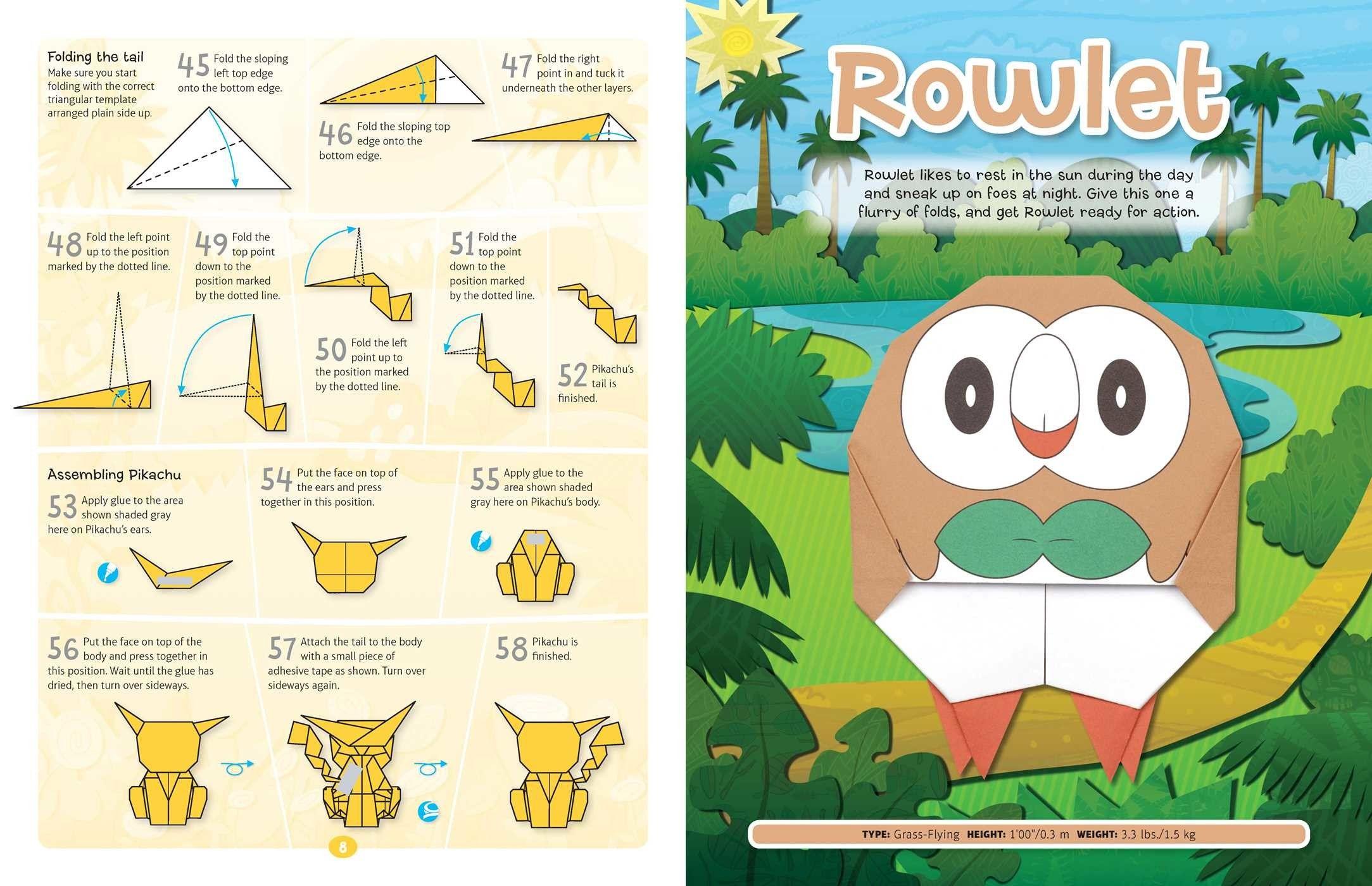 Squirtle Pokemon Origami 3d | Samuel Ferreira | Flickr | 1400x2167