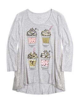 05b9c9b75ef2b Shop Embellished Trapeze Top and other trendy girls clothes new arrivals at  Justice. Find the