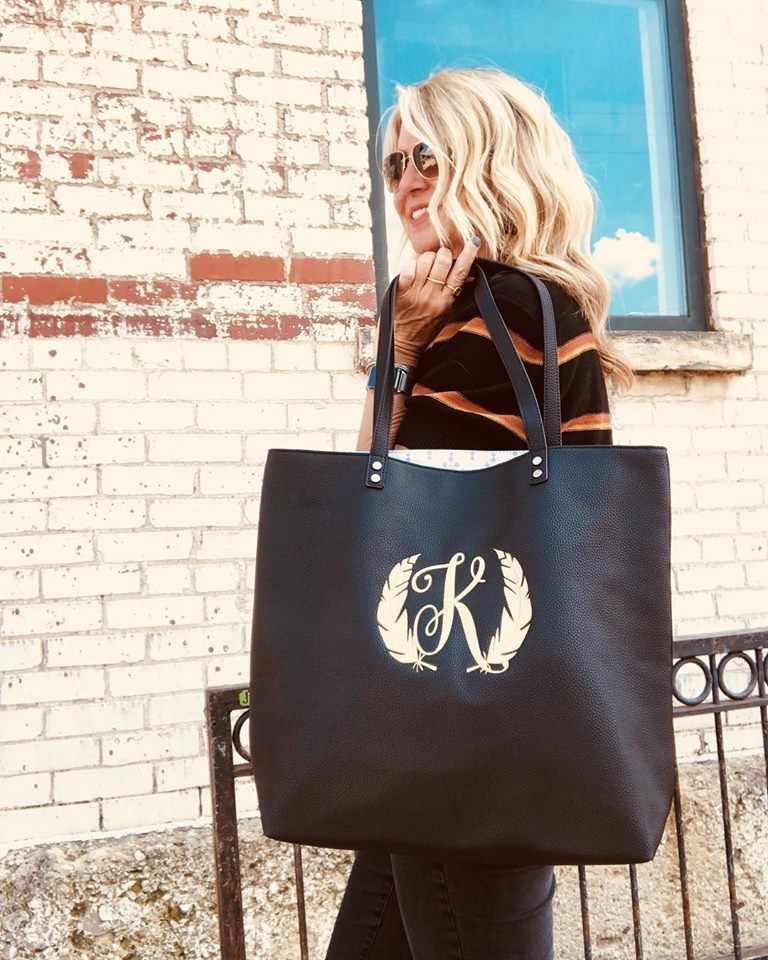 Around Town Tote Black Beauty Pebble in 2020 Thirty