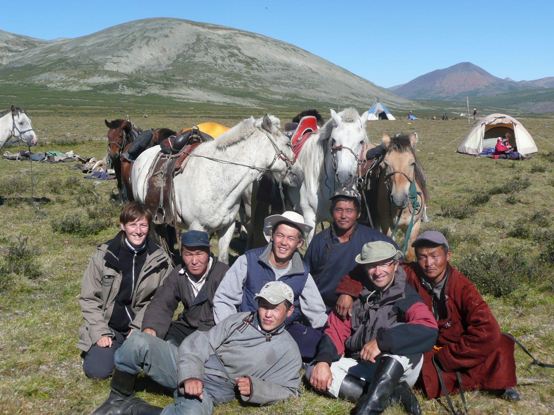Les gitans de la Taïga C'est en partie à cheval, en plein coeur de la Taïga…
