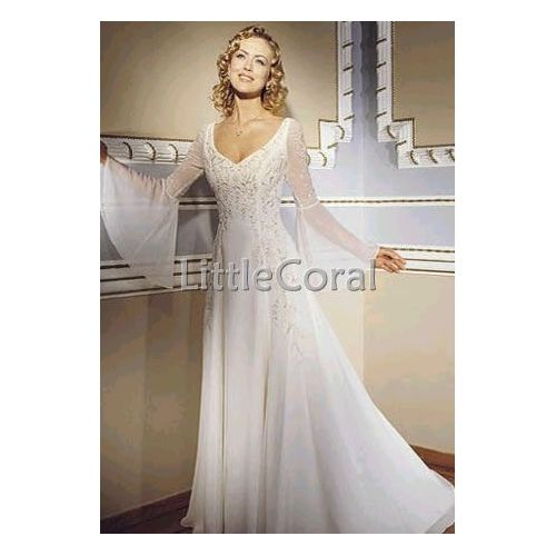 Wedding Dresses With Bell Sleeves: ...This Might Be My New Favorite. I THINK IT IS.. But It