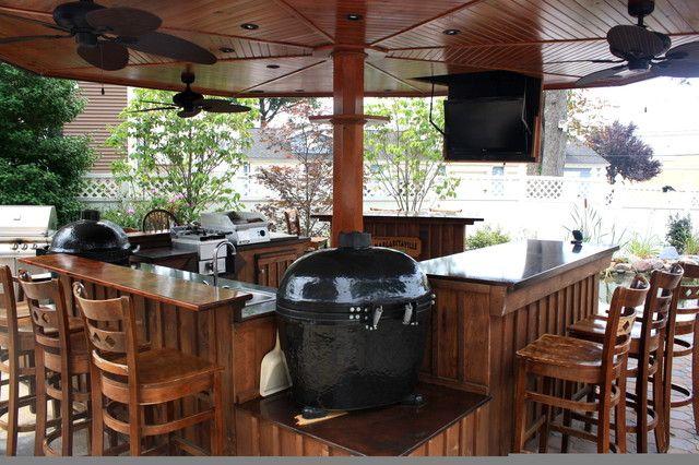 Poolside Bar/Grill/Kitchen | Dream Cabin | Pinterest