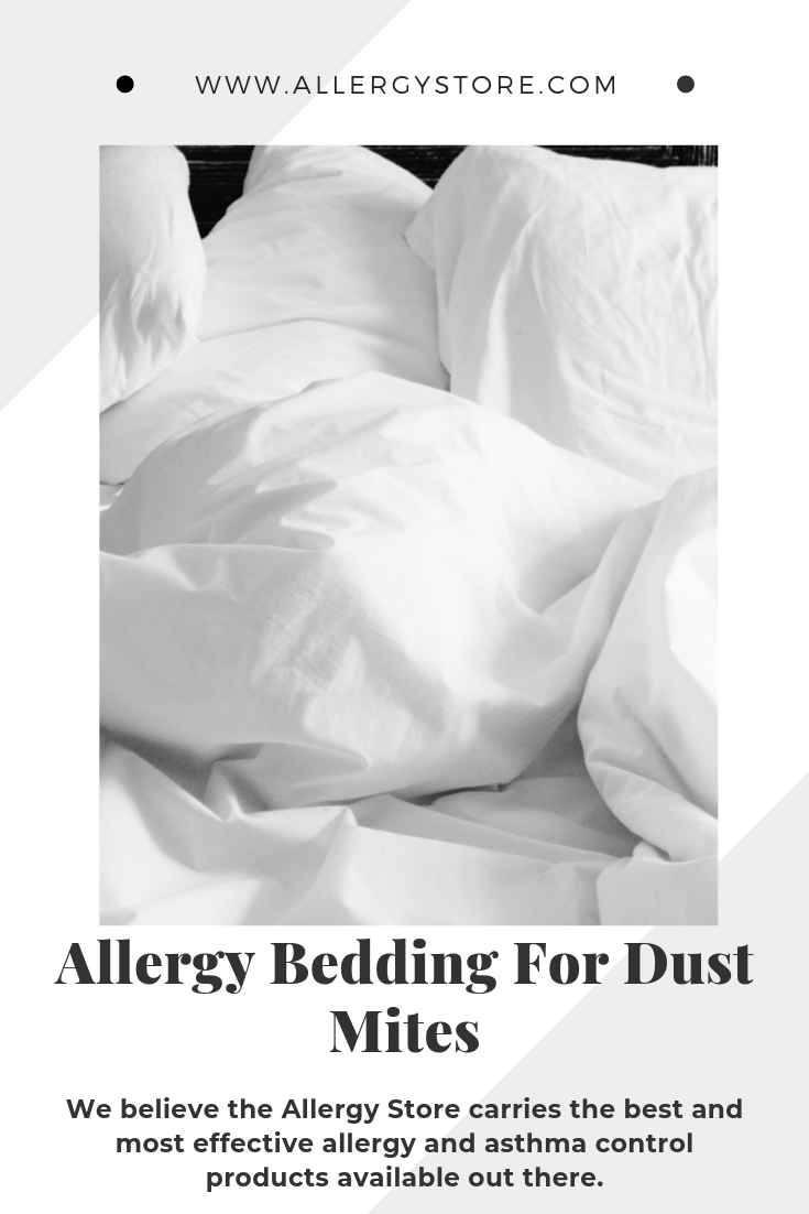 """""""Allergy Doctors that you cover all your bedding"""