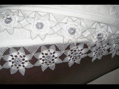 2 Towel Lace Crochet Edge Patterns Models Designs New Trends