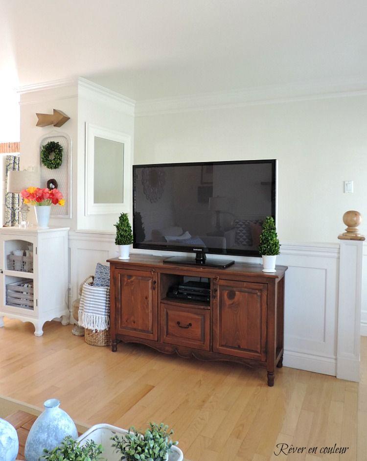 remplacer la rampe d 39 escalier par un demi mur au salon et. Black Bedroom Furniture Sets. Home Design Ideas