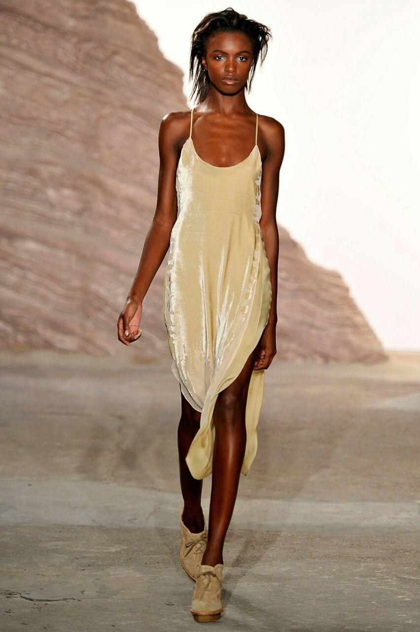 9a9aadb8b15 uploads fashion Model runway velvet nyfw Maiyet Leomie Anderson ...