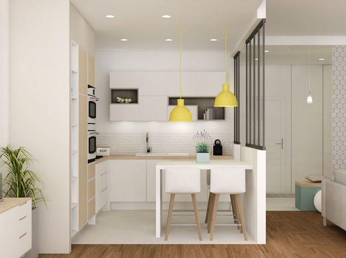 48+ Salon sejour cuisine 38m2 ideas in 2021