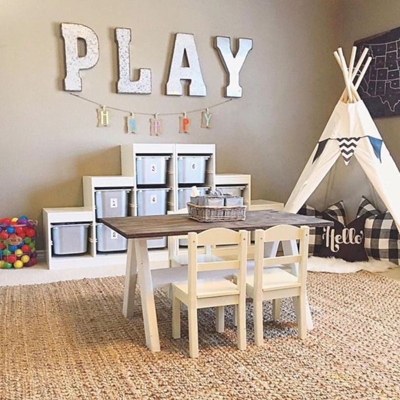 57 Playroom Decorating Ideas for Small Space Playrooms, Small