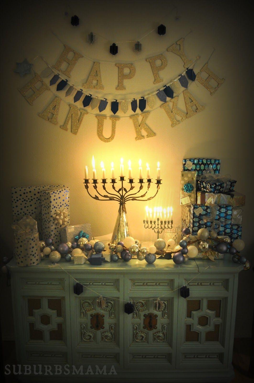 Happy Hanukkah Diy Decorations