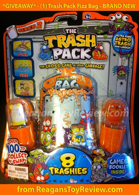 Win A Trash Pack Series 2 Fizz Bag From ReagansToyReviewcom  Toy
