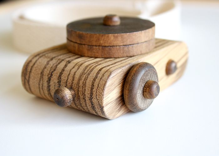 Twig Exotics // African Zebrawood Camera -- Limited Edition