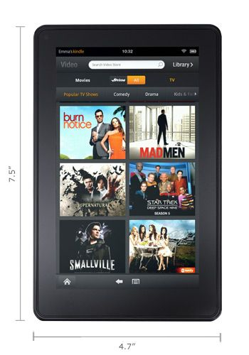 It's finally here: Amazon's Kindle Fire (photo gallery)   Cool stuff
