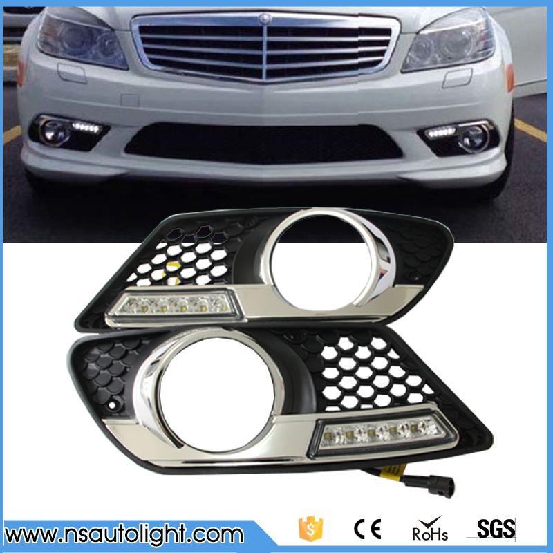 2x Car Fog Lights 9LED Blue Daytime Driving Running Light DRL For Ford Foucs UK