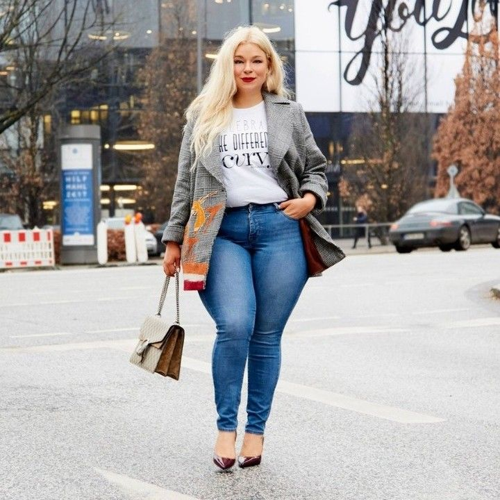 Chubby in jeans authoritative answer