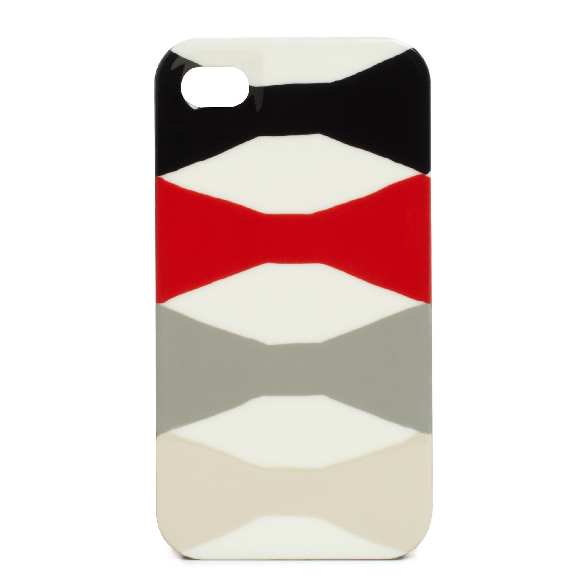 Abstract Signature Bow Iphone 4 Case In 2020