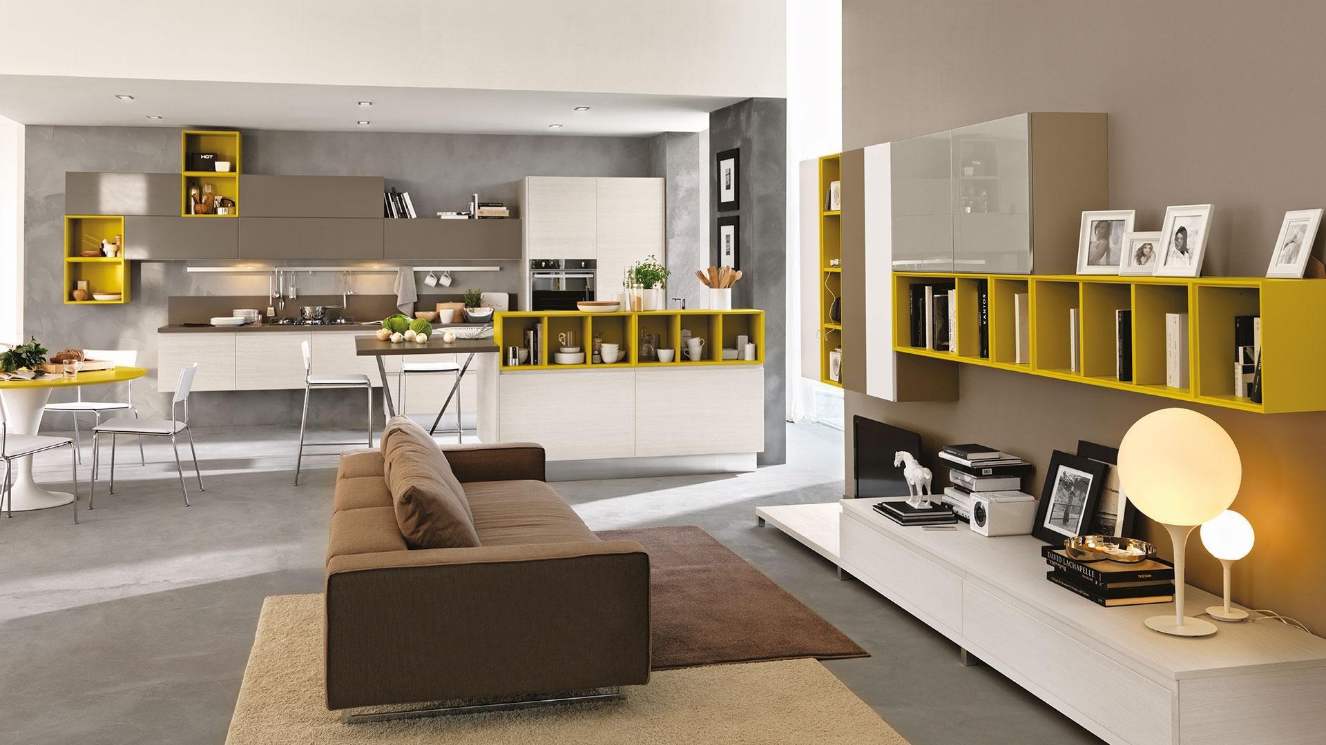 Linda - Cucine Lube   Arredamento grigio, Arredamento e Cucine
