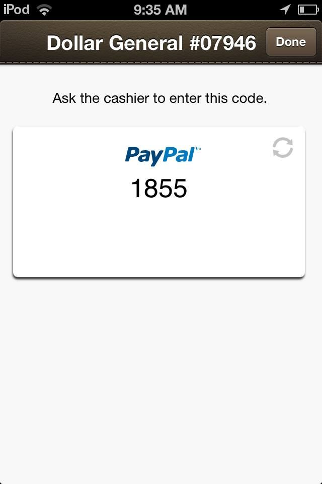 iPhone Screenshot 1 Paypal business, Invoice maker